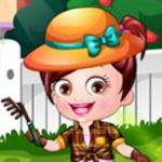 Baby Hazel Gardener Dressup