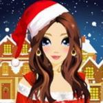 Christmas Girl Makeover