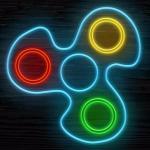 Fidget Spinner Neon Glow Online