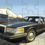 Lincoln Town Car Jigsaw