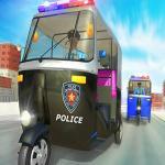 Police Auto Rickshaw Game 2020