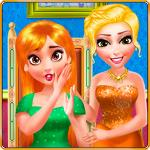 Princess dentist and makeup