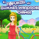 Rapunzel Summer Wardrobe Change